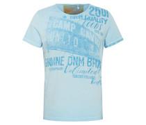 T-Shirt blau / hellblau
