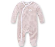 Baby Schlafanzug braun / weiß