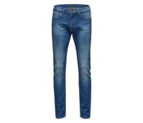 Jeans im Vintage-Design 'Luke' blau