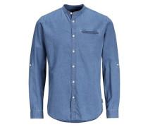 Hemd 'jorbenny Shirt LS' blau