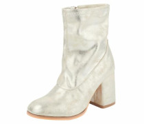 '' Stiefelette im Metallic-Look champagner