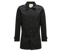Moderner Trenchcoat schwarz