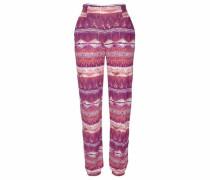Strandhose lila / pink / bordeaux