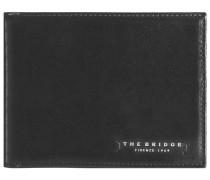 Passpartout Uomo Leder Geldbörse 125 cm schwarz