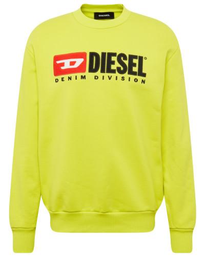 Sweatshirt 's-Crew-Division' limone