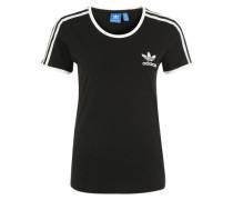 T-Shirt 'sandra 1977' schwarz