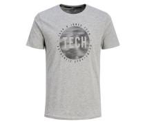 Lässiges T-Shirt grau