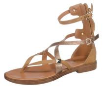 Sandaletten karamell / gold