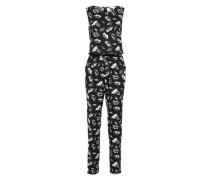 Jumpsuit 'Printed' mischfarben / schwarz