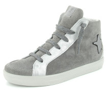 Sneaker Livia Leder grau