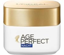 'Age Perfect m. Soja Nacht' Gesichtspflege weiß