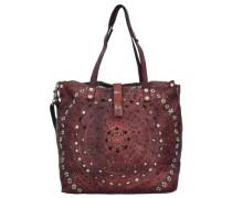 'Echinacea Shopper' Tasche 33 cm blutrot