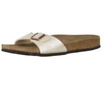 Sandale 'Madrid' perlweiß
