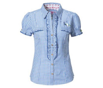 Bluse 'Minu' blau / weiß