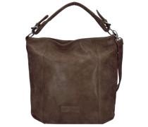 Carolin Vintage Shopper Tasche 42 cm braun