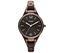 "Armbanduhr ""georgia Es3200"" braun"