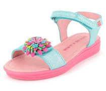 Sandale Leder blau