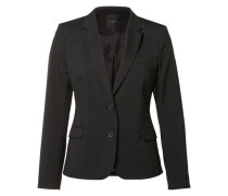 Regular fit Blazer schwarz