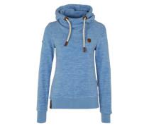 Sweatshirt 'Kanisterkopf' blau