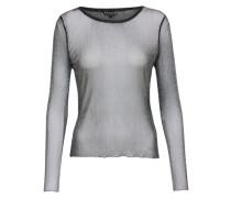 Glitzer-Shirt schwarz