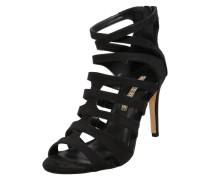 Riemchen-Sandaletten schwarz