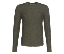 Pullover 'Reverse' grün