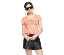 DAY BIRGER ET MIKKELSEN Ausbrenner-Shirt 'Day Pebble' orangerot