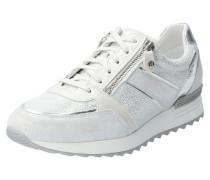 Sneaker Toscana weiß / silber