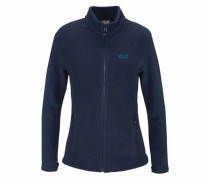Moonrise Fleecejacke Damen marine