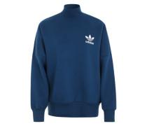 Oversize-Sweatshirt mit Fledermausärmeln blau