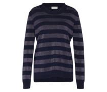 Pullover mit Kaschmir blau