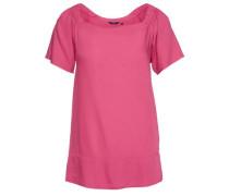 Schlichte Carmen-Bluse pink