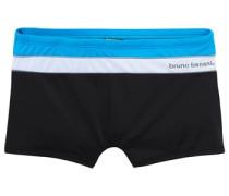 Boxer-Badehose schwarz / weiß