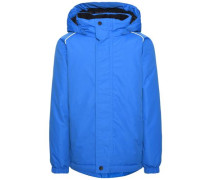 Winterjacke Windfunktionaler blau