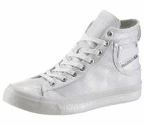 'Magnete exposure IV' High Sneaker silber