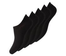 Füsslinge 5er-Pack schwarz