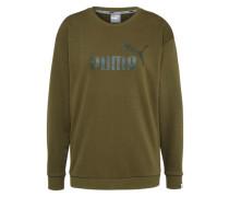 Sweater 'No.1 Crew' oliv
