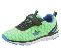 -Sneaker blau / mint / schwarz