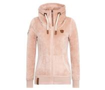 Female Zipped Jacket 'Monsterbumserin Mack IV' pink