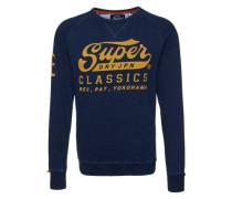 Sweatshirt 'Classics True Indigo Crew' blau