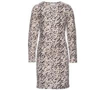 Kleid mit langen Ärmeln 'nitlamille' beige