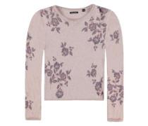 Pullover Strick lila