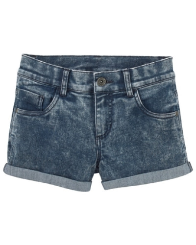 Jeansshorts mit Moonwashed-Waschung blue denim / graphit