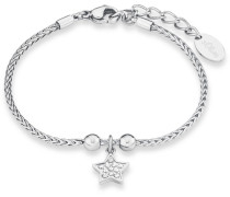 Armband mit Zirkonia »Stern So1444/1« silber