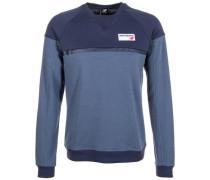 'Athletics Crew' Sweatshirt marine / rauchblau