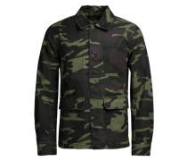 Camouflage-Blazer mischfarben
