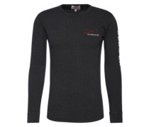 Sweatshirt 'deus_It_000238' anthrazit / rot