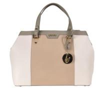 Shopping Zip Cannes Shopper Tasche 15 cm beige