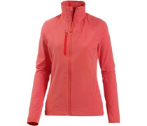 'Super Chockstone' Softshelljacke Damen lachs