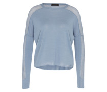 Pullover 'humid' blau